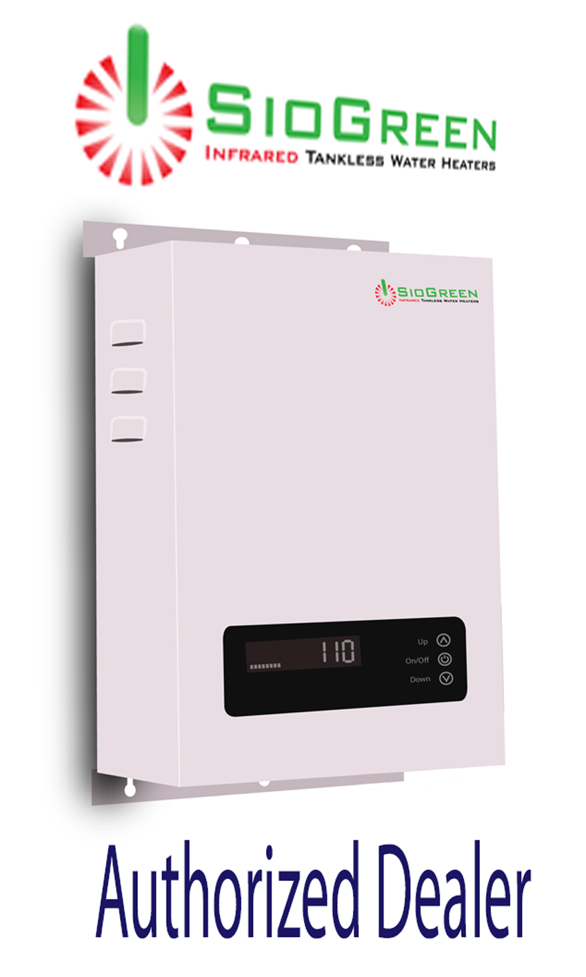 SioGreen SIO18 Contractor Series Tankless Water Heater